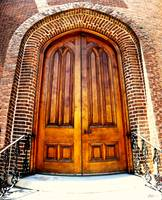 First Presbyterian Church Doors Huntsville