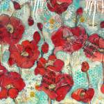 """glowing red Poppies"" by schulmanart"