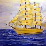 """Spanish Barque Tall ship"" by 1kelton"