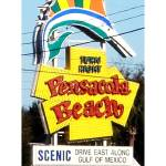 """Pensacola Beach, Florida Welcome Sign"" by 1kelton"
