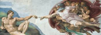 Creation of Adam, Detail of Sistine Chapel