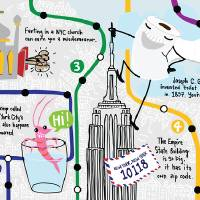 """LittleKnown New York City Curiosities by Samarra"" by They Draw & Cook & Travel"