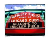 WELCOME SITE WRIGLEY FIELD