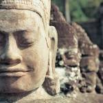 """Faces of Avalokitesvara, Angkor Thom (Cambodia)"" by petrsvarc"