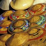 """Pile of Straw Hats, Thailand"" by petrsvarc"