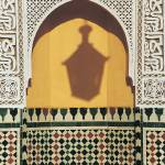 """Shadow of Lantern, Moulay Ismail Mausoleum, Meknes"" by petrsvarc"