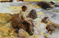 Boy in the Breakers, Javea