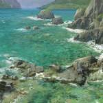 """Caribbean Shallow Cove 1"" by dozalart"