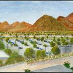 """Pima Community College, West Campus"" by kashtcreation"