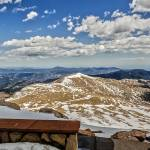 """Front Row Seat On Mount Evans Summit_"" by Lorraine_Sommer"