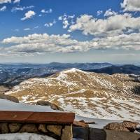 Front Row Seat On Mount Evans Summit_ Art Prints & Posters by Lorraine Sommer