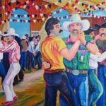 """Barn Dance at the Gay Rodeo"" by BeaconArtWorksCorporation"
