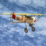 """1920s Biplane"" by susansartgallery"