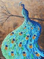 Graceful Peacock