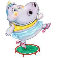Hippo on a Trampoline