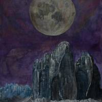 Wandering Moon/ The Cold Moon Art Prints & Posters by Paul Chenoweth