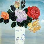 """""""Roses in a Vase"""" by 1kelton"""