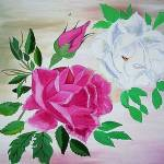 """""""Red and White Roses"""" by 1kelton"""