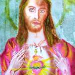 """Sacred Heart of Jesus Christ"" by 1kelton"