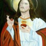 """Sacred Heart of Jesus II"" by 1kelton"