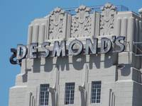 Desmond's Art Deco Building Face