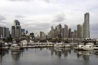 Panama City skyline, Panama.
