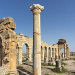 """Ruined Basilica at Volubilis, Morocco"" by petrsvarc"