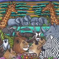 Colours of Africa Art Prints & Posters by Lisa Lorenz