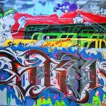 """graffiti-348111EX"" by ArtLoversOnline"
