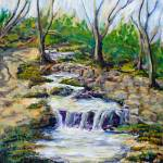 """Ferndell Creek Noon"" by randysprout2004"