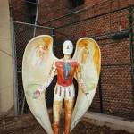 """Angel of Skid Row by Gloria McKinney"" by Lamp_ArtProject"