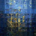 """Mediterranean Blue. Modern Mosaic Tile Art Paintin"" by MarkLawrence"