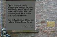 Wall of Fame - A Dedication to John Lennon