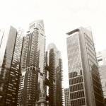 """Architecture  Singapore in  black/white"" by sghomedeco"