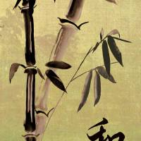 Bamboo Harmony Art Prints & Posters by I.M. Spadecaller