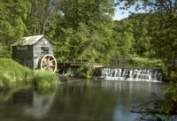 Hyde's Mill in Summer
