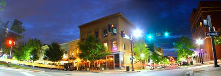 Downtown Huntsville AL at Night