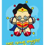 """My SUPERCHARGED VOODOO DOLLS WONDER WOMAN"" by Chungkong"