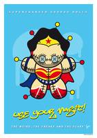 My SUPERCHARGED VOODOO DOLLS WONDER WOMAN