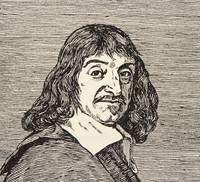 Rene Descartes, copy by Boris Mestchersky
