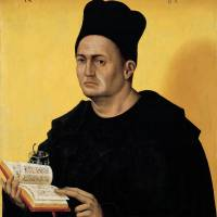 """Portrait Benedictine Abbot"" by The Fine Art Masters"
