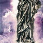 """Statue of Liberty New York Landmark"" by GinetteCallaway"