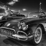 """Black White Photography Corvette Chevrolet Car"" by Black_White_Photos"