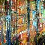 """CYPRESS WOODLANDS in FALL"" by MBaldwinFineArt2006"