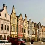 """Renaissance Houses On The Square In Telc, Czech Re"" by picturesbybgale"