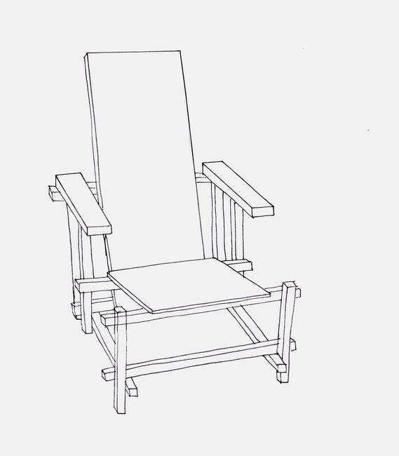 Line Drawing Chair : Rachaeledmonds s stunning artwork for sale on fine art prints