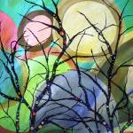"""""""Circles And Treetops"""" by RuthPalmer"""