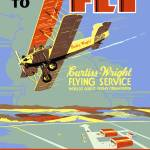 """Curtiss Wright Flying Service"" by jvorzimmer"