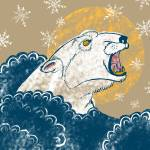 """polarbear-Recovered"" by Joel_Hedstrom"