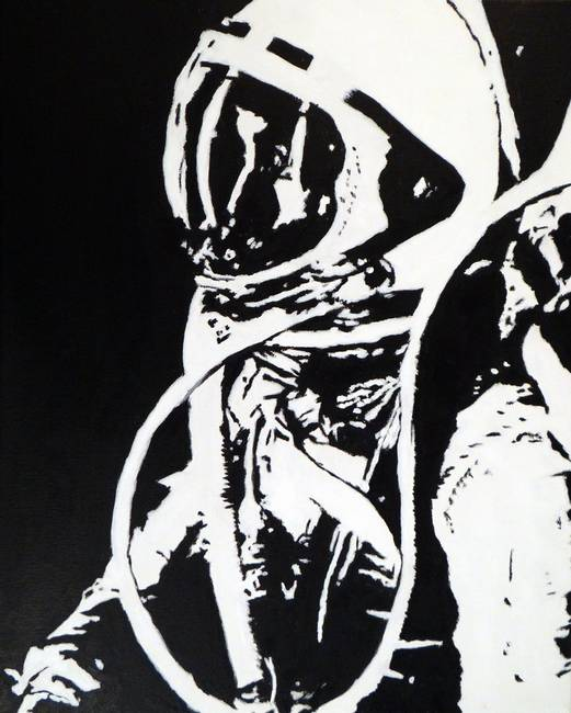 "Pop Art ""Astronaut"" Painting Reproductions For Sale On ..."